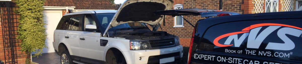 Range Rover Servicing berkshire
