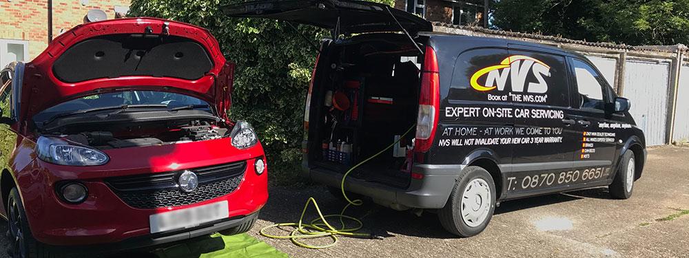 Mobile Vauxhall Servicing in Bracknell